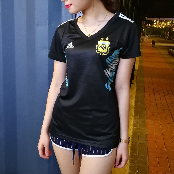 Argentina Women Away World Cup 2018 Fans Issue Jersey