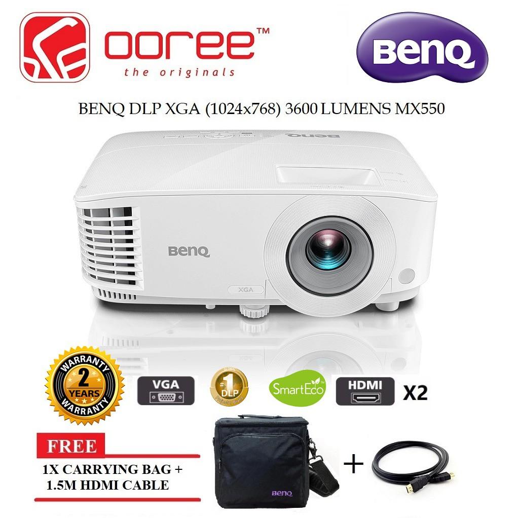 5c859fc22 BENQ MX611 DLP PROJECTOR 4000 LUMENS XGA 1024x768. INPUT: VGA + HDMI*2.  SPEAKER | Shopee Malaysia