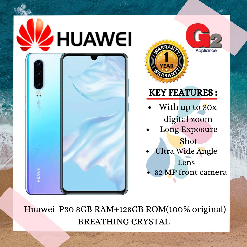 Huawei P30 8GB RAM+128GB ROM(original)