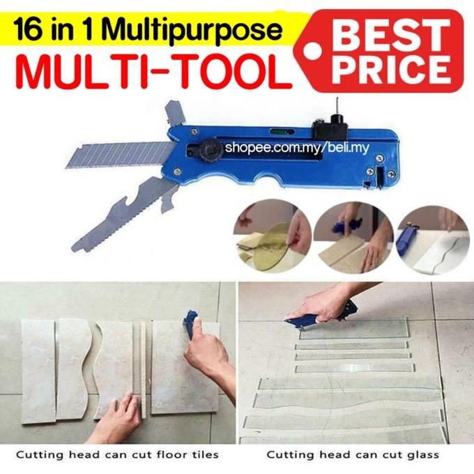 ???????? 16 in 1 Multipurpose Cutter, Tile Glass Cutter