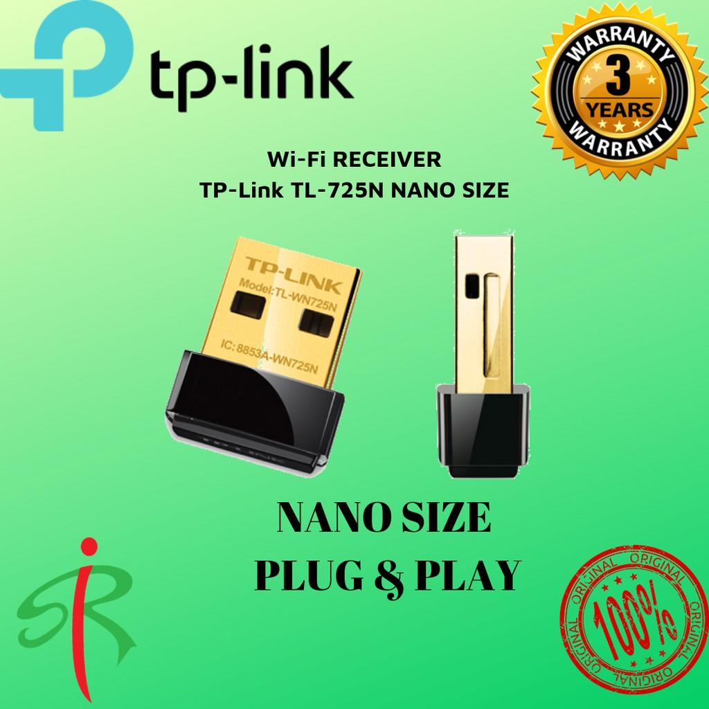 TP-Link TL-WN725N Nano Size Wireless N150 USB Wifi Adapter