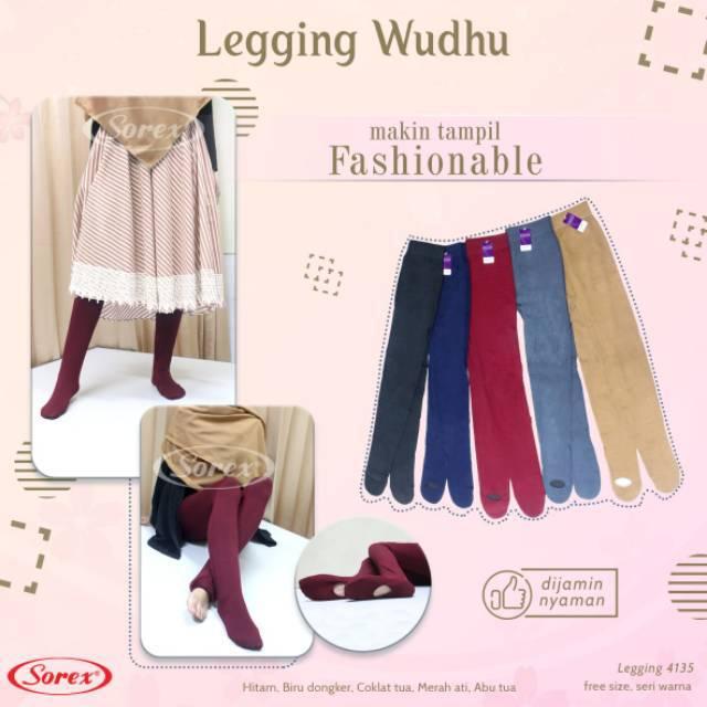 Legging Wudhu Sorex Stretch 4135 Shopee Malaysia