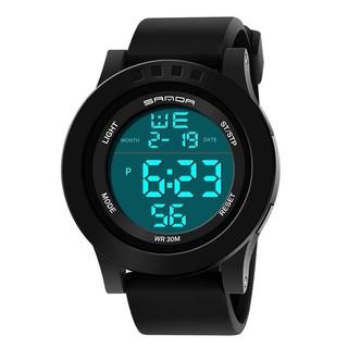 9615899bb Super Slim Waterproof Sport Watch Men Electronic LED Digital Wrist Watches  | Shopee Malaysia