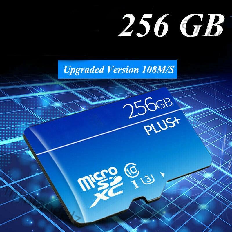 Mylilangelz 32GB 64GB 128GB 256GB Micro SD HC Class 10 TF Flash SDHC Memory Card with Adapter (READY STOCK)