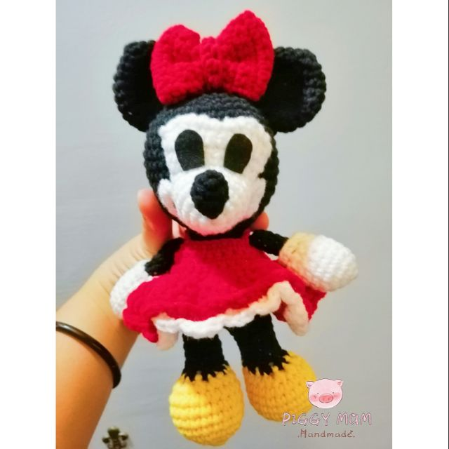 MINNIE MOUSE amigurumi crochet pattern Disney Crochet | Etsy | 640x640