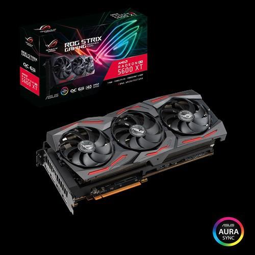 ASUS ROG STRIX RX 5600 XT OC 6GB GDDR6 (ROG-STRIX-RX5600XT-O6G-GAMING)