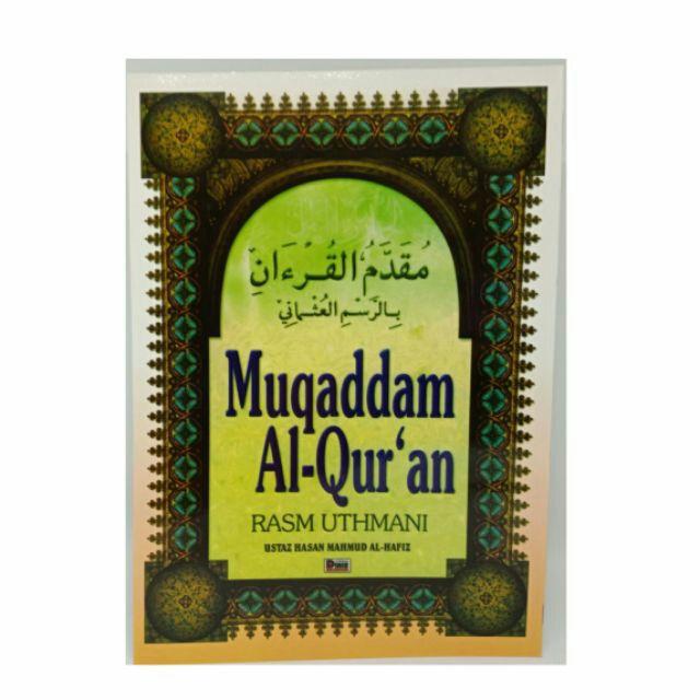 Muqaddam Al-Quran (Promotion!!!)