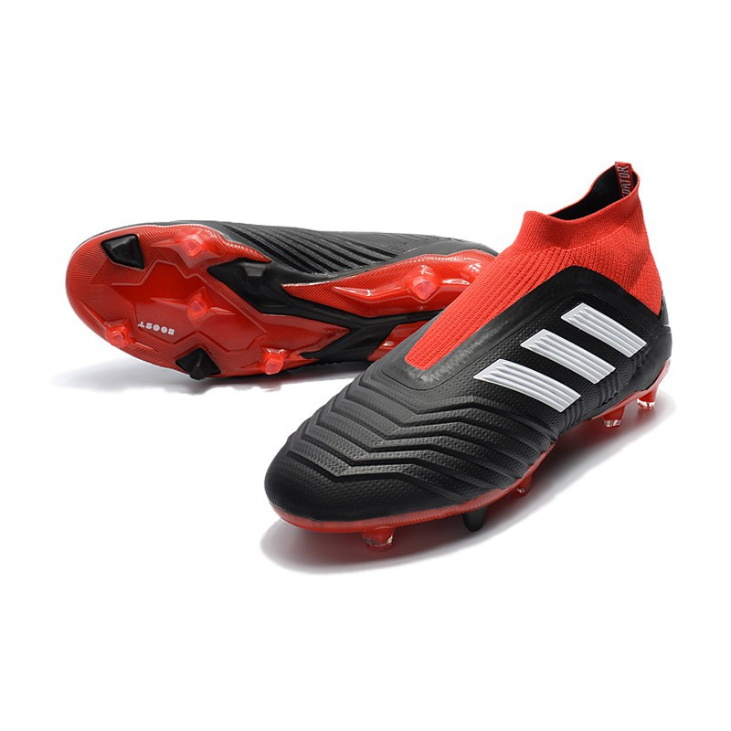 adidas Predator 18+ FG Black Red White size(39 45)