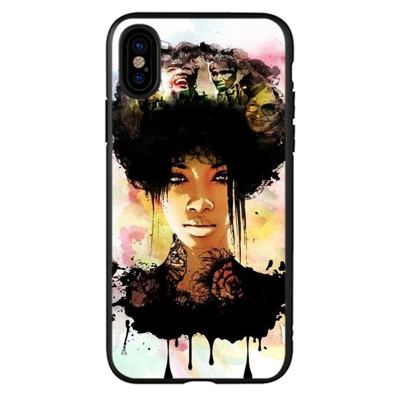 Melanin Poppin wallpaper OPPO A37 A73 A83 F7 F5 TPU cell phone