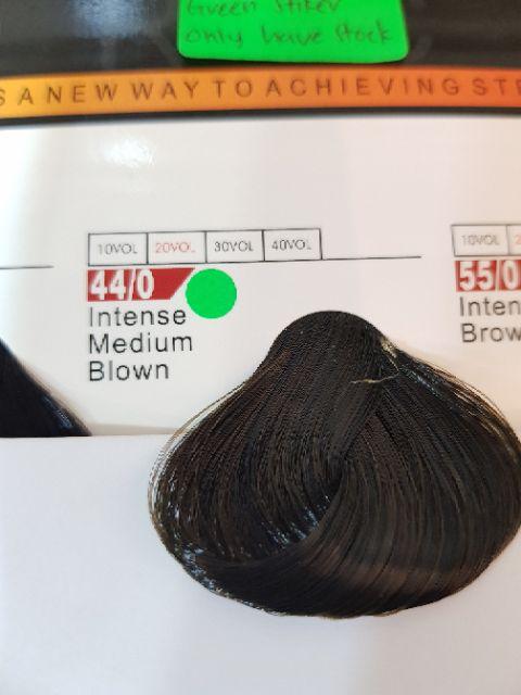 Fabaole color (Intense Medium Blown. 44/0)100ml foc peroxide cream 100ml (Intense Medium Blown. 44/0)