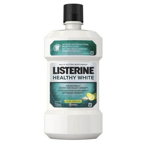Listerine Healthy White 750ml / 2x750ml