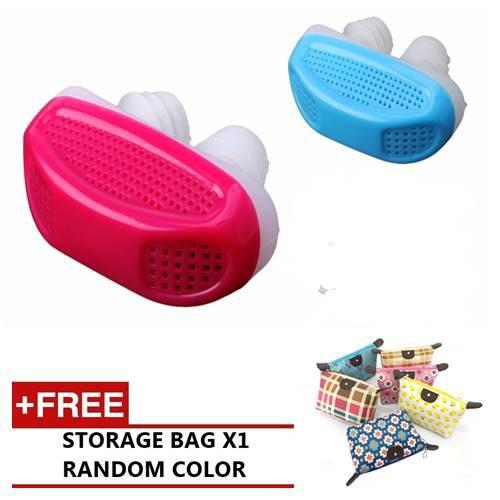 Portable Anti Snoring Nose Clip Nose Nasal Breathe Sleep Stopper Device Aid | Shopee Malaysia