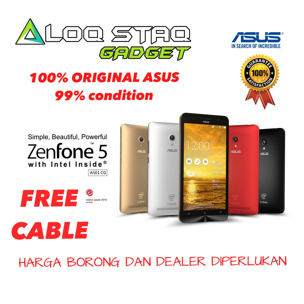 ASUS ZENFONE 5(100% Original ASUS GLOBAL and 99% CONDITION