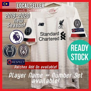 competitive price a9f3e 01c26 FREE POS] [READY STOK] Liverpool 2019/20 Away Jersey S-4XL ...