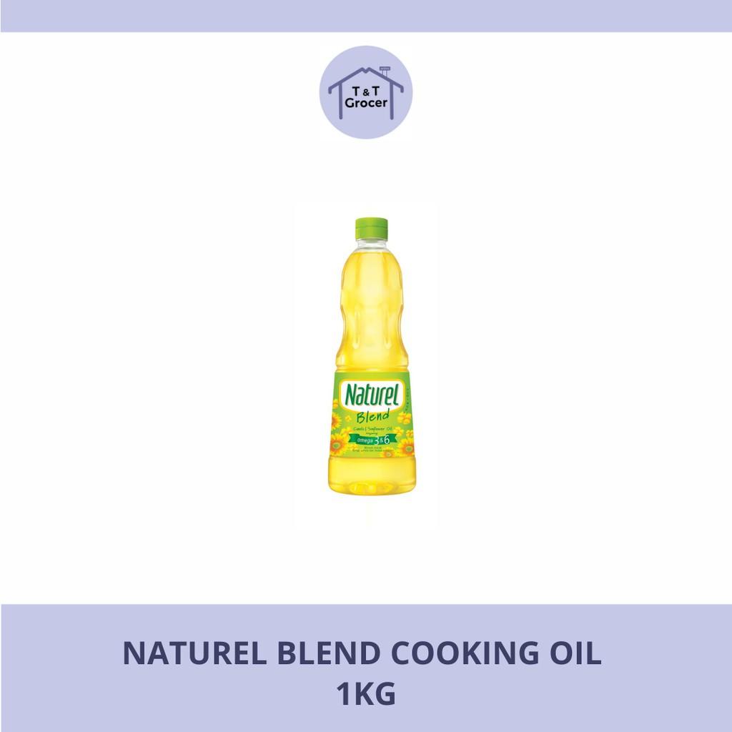 Naturel Blend Cooking Oil (1kg/ 2kg/ 3kg)