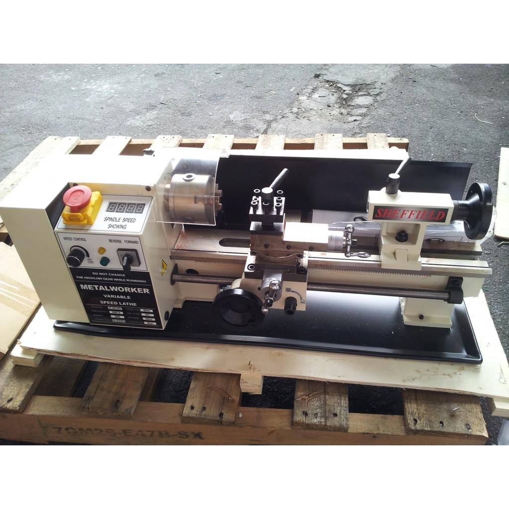 Sheffield 350W Variable Speed Mini Metal Lathe Machine