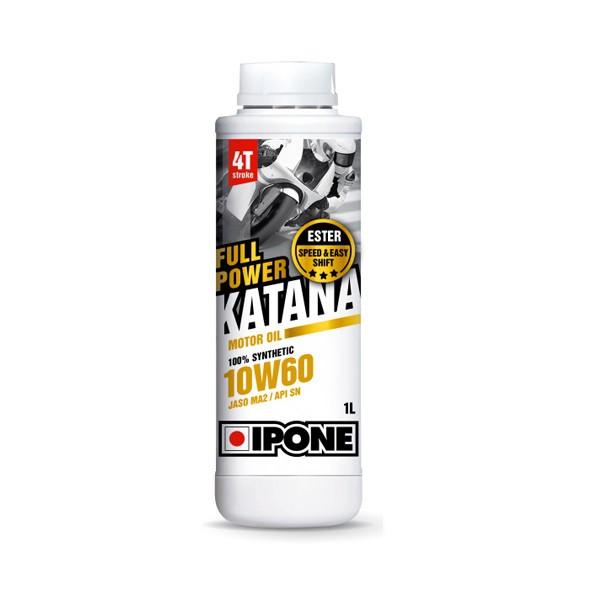 IPONE Full Power Katana 10W60 4T 1 Liter Motorcycle Engine Oil