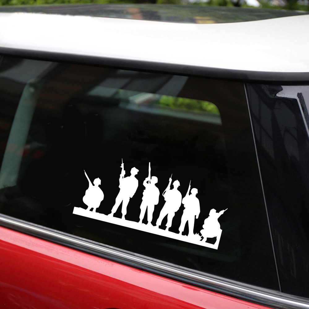 Productimage soldier car stickers
