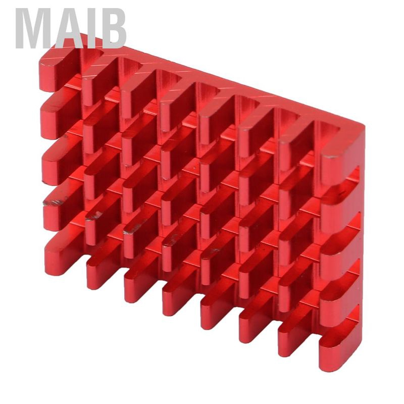10pcs Aluminum Heat Sink Cooling Fin for ESC Transimitters RC Drone Red