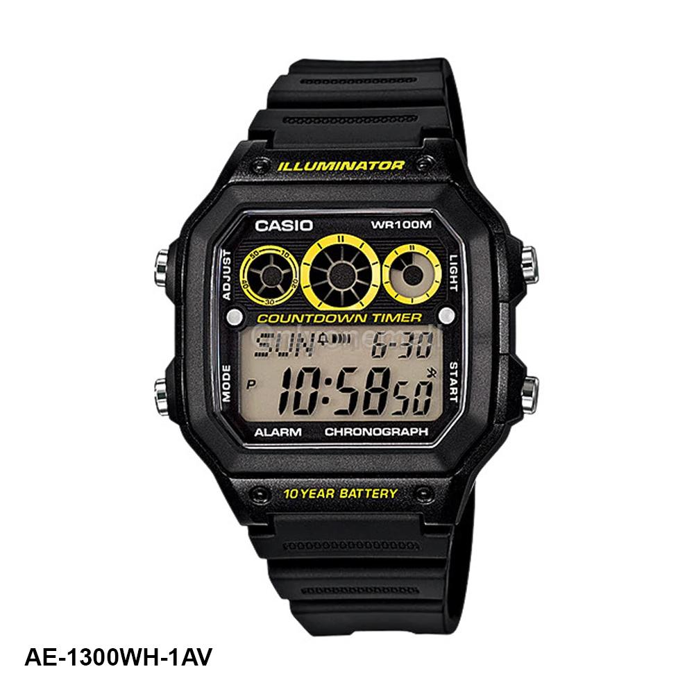 Casio AE-1300WH-1AV HIIT Training Watch