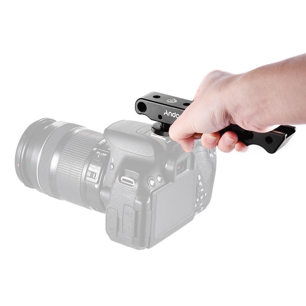 Pro Video Stabilizing Handle Grip for Nikon 1 V1 Vertical Shoe Mount Stabilizer Handle
