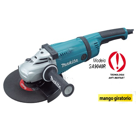 """MAKITA GA9040R 2600W 230MM 9"""" LARGE ANGLE GRINDER CUTTER GRINDING CUTTING"""