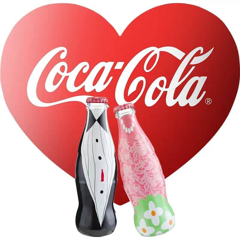 [Set of 2] Couple Coca Cola Limited Edition