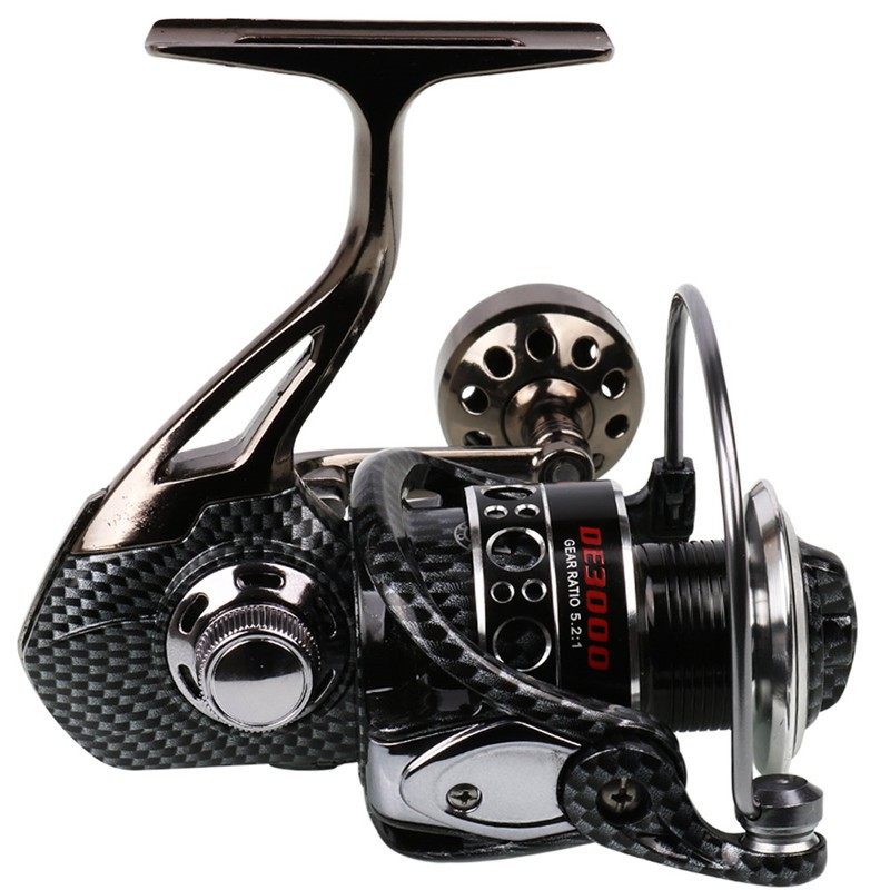Spinning Reel 13BB Left/Right Handle Spincasting Trolling Fishing Reel