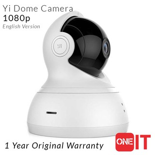 SIRIM Certified Yi Dome Camera 1080P - 2-Way Voice (360/112