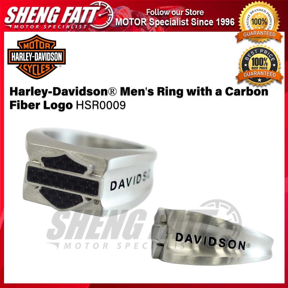 Harley-Davidson® Men's Ring is proudly produced by Mod ® HSR0009