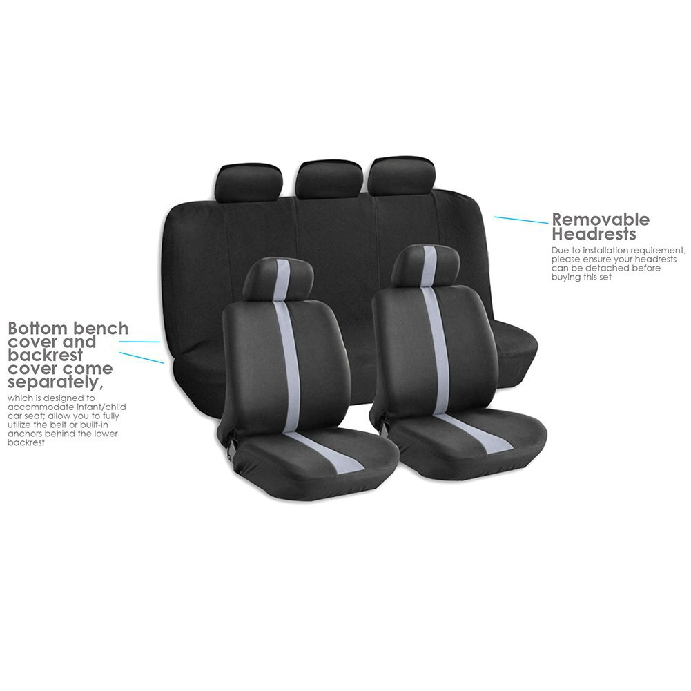 Admirable Car Seat Covers With Headrest Covers Breathable Anti Dust Caraccident5 Cool Chair Designs And Ideas Caraccident5Info