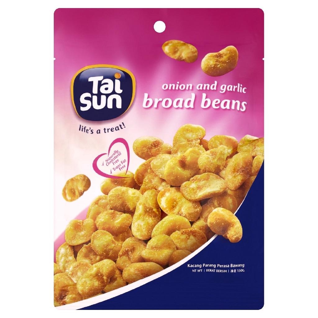 Tai Sun Onion & Garlic Broad Beans (150g)