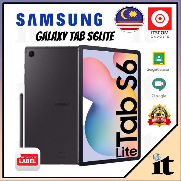 Samsung Galaxy Tab S6lite 10.4 WIFI Tablet (P610N) - Original 100% 1 Year Warranty Malaysia