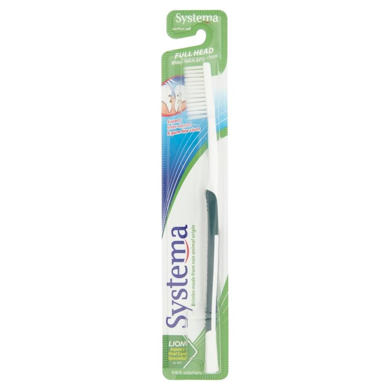 Systema Full Head Toothbrush - Medium Soft