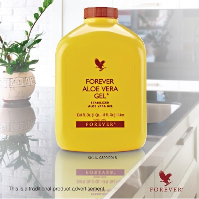 Forever Living Aloe Vera Gel 1liter 100% Original (Say NO to FAKE product)