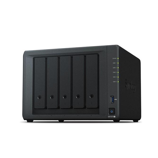 Synology DiskStation DS1019+ NAS Server (5 Bay, 8 GB DDR3L, Tower)