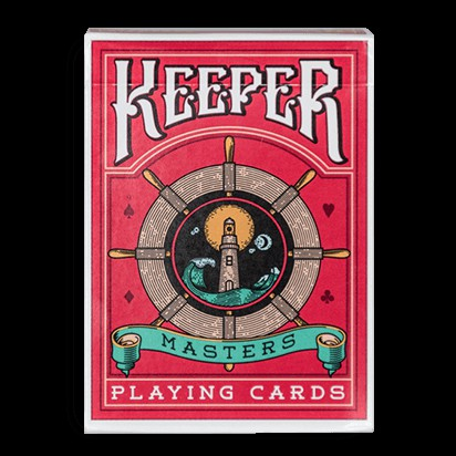 Keepers Marked Red Deck Playing Cards V1 V2