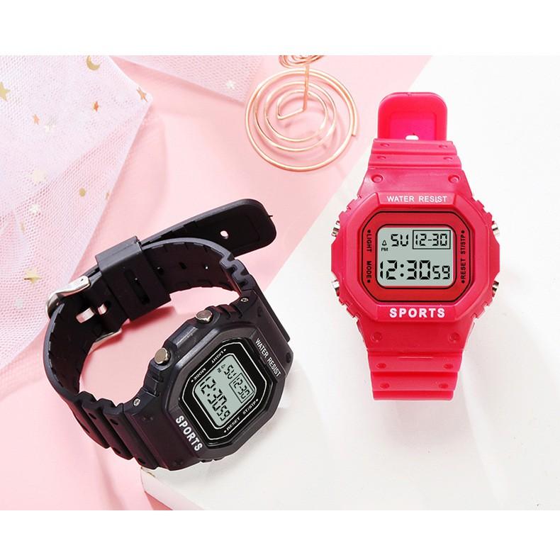 Jam Tangan Wanita Korean Unicorn Watch Girl Waterproof Cute Electronic Watch Sport W00115