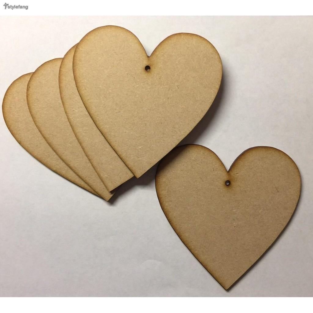 5 PACK Wooden BOOK SHAPE PLAQUE SIGN TEACHER DIY Craft Blank Shapes BOOK