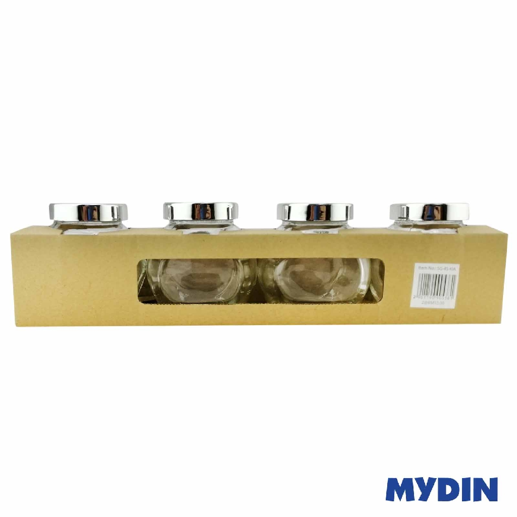 MyHome Glass Canister Set 4s SG-4S-KIA