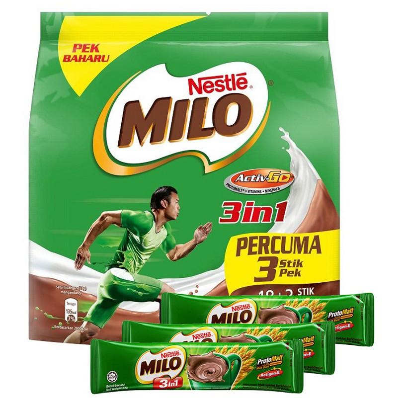 1.1kg NESTLE MILO ACTIV-GO CHOCOLATE MALT POWDER Softpack 1.1kg | Shopee Malaysia