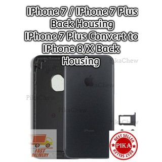 official photos f6278 097a1 iPhone 7 7 Plus Housing Back Steel Body Frame Replacement