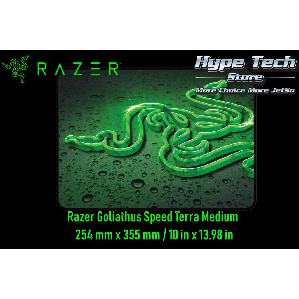 Medium Razer Goliathus Speed Terra Smooth Cloth Professional Gaming Mouse Mat