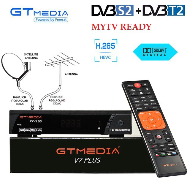 FREESAT V7 COMBO PLUS (GTMEDIA)