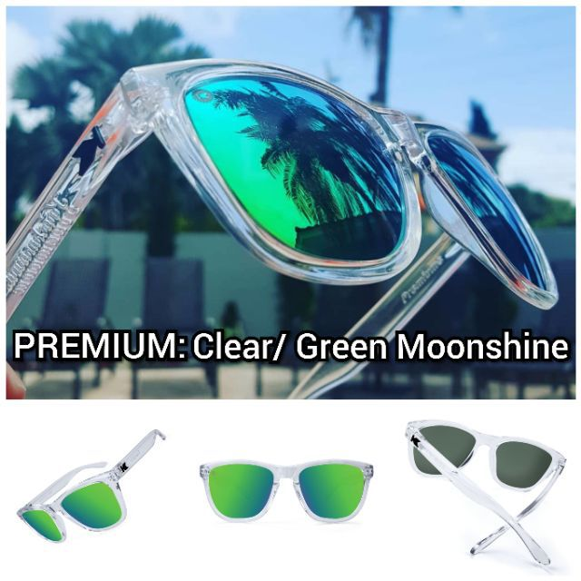 c27649f1dcf6 KNOCKAROUND PREMIUMS Clear  Green Moonshine