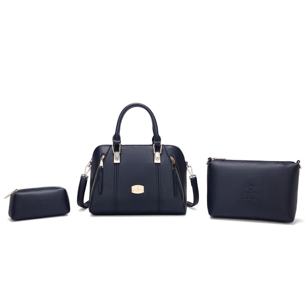 BIANCARINA Nadia Handbag 2 in 1 Set [Free Button Envelope Wristlet]