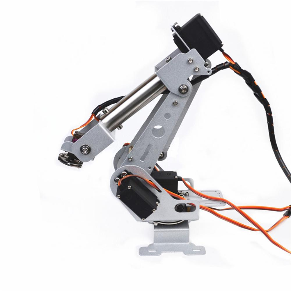 ⚫NEW⚫ DIY 6DOF RC Robot Arm Stainless Steel Robot Arm For Arduino