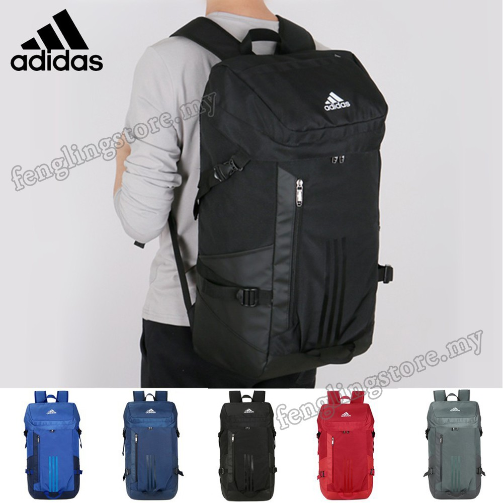 f09968f565 Adidas 60L Outdoor Sport Backpack Waterproof Large Travel Bag Beg ...