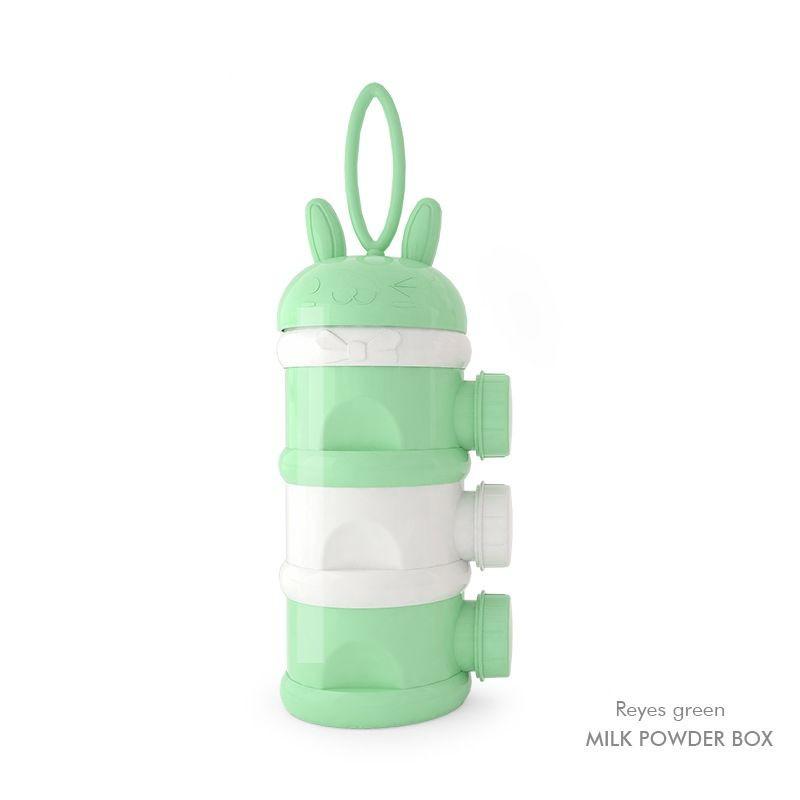 [ READY STOCK ]  Baby Cute Dispenser Milk Powder Storage Box Creative Food Container Jualan Murah Kitchen Susu Bottle