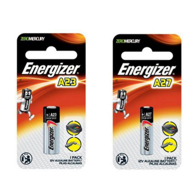 Energizer A23 A27 Battery for Car Remote Gate Door 12V (1 Pcs)